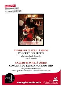 Duo Sud conservatoire Clément Janequin